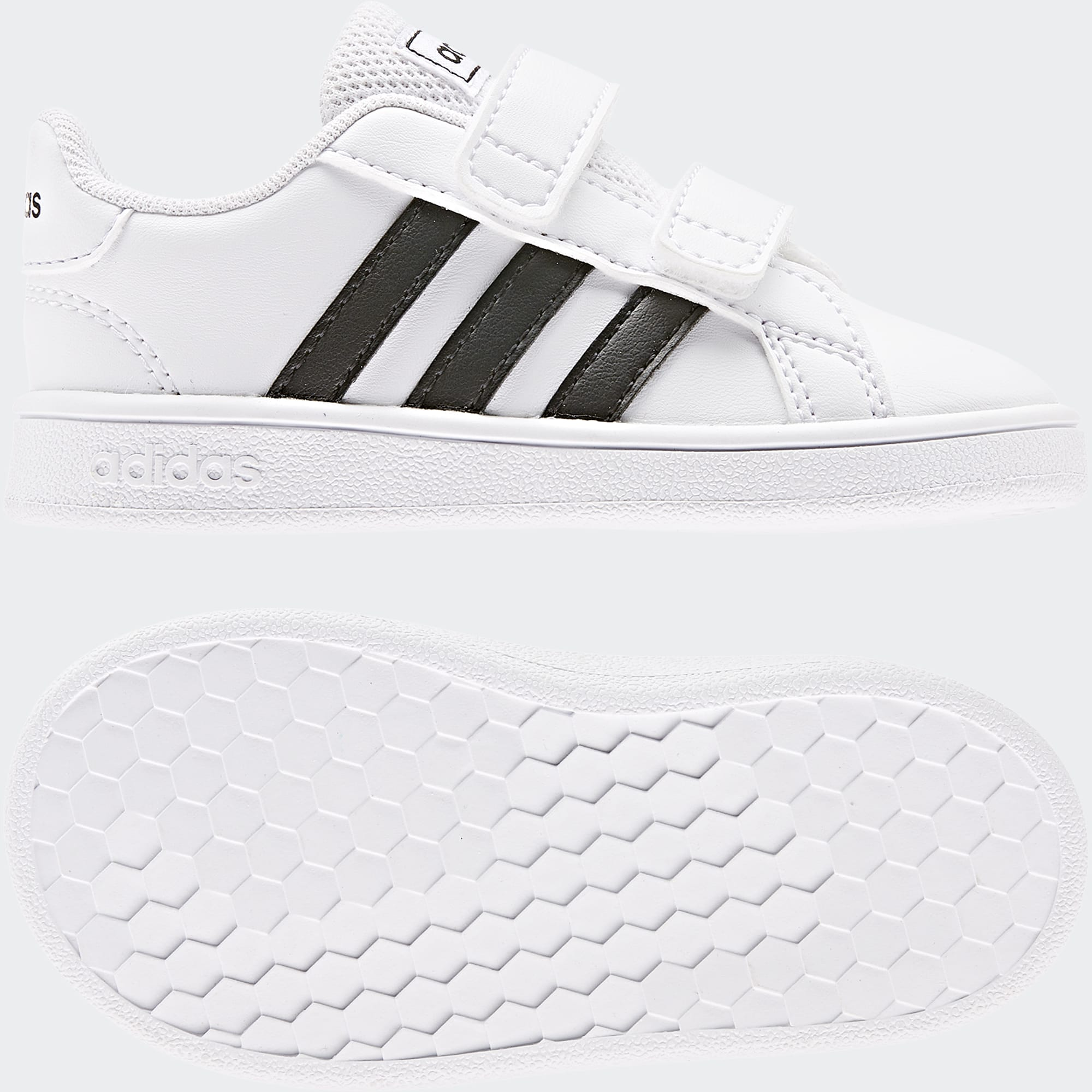 Adidas Grand Court Inf - Boys-Casual : NZ's Leading Kids' Shoe ...